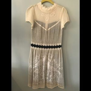 Vintage style Anthropologie dress.
